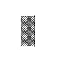 OSMO Sichtblende Skagen - Rankgitter 89x178 cm