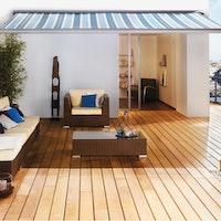 OSMO Terrassendiele Garapa glatt oder französisch