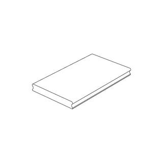 OSMO Terrassendiele Thermoholz Esche -glatt / glatt für SenoFix