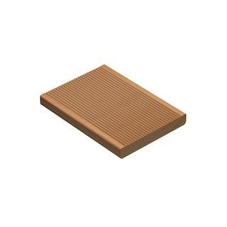 OSMO Terrassendiele Douglasie - geriffelt / geriffelt