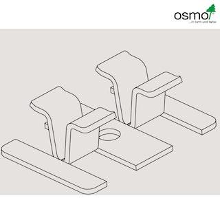 OSMO Zubehör MULTI-DECK Befestigungsclip für 25 mm Terrassendiele