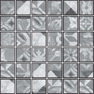 Osmose Dekor-Mosaik 5x5 Tempus Lento 30x30 cm