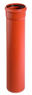 KG PVC Coexrohr mit 1 Muffe