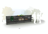 WWOO Designbeton-Outdoorküche Eni