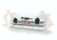 WWOO Designbeton-Outdoorküche Esra