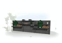 WWOO Designbeton-Outdoorküche Esa