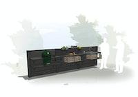 WWOO Designbeton-Outdoorküche Enno