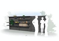 WWOO Designbeton-Outdoorküche Eep