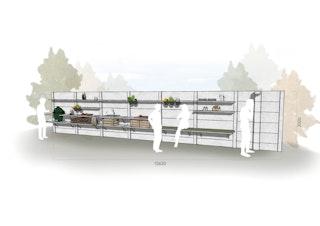 WWOO Designbeton-Outdoorküche Talyn