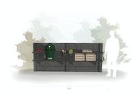 WWOO Designbeton-Outdoorküche Mac