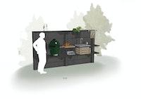 WWOO Designbeton-Outdoorküche Michel
