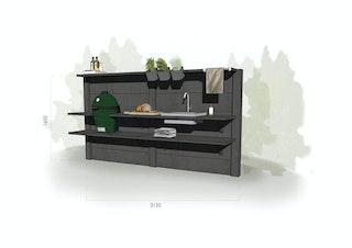 WWOO Designbeton-Outdoorküche Maarten