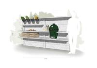 WWOO Designbeton-Outdoorküche Maxime