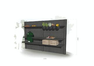WWOO Designbeton-Outdoorküche Matteo