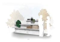 WWOO Designbeton-Outdoorküche Mano