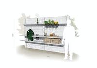 WWOO Designbeton-Outdoorküche Mats