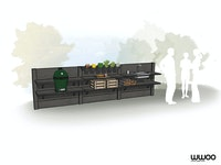 WWOO Designbeton-Outdoorküche Egon