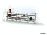 WWOO Designbeton-Outdoorküche Jais