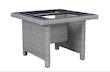 Kettler PALMA modular Casual Dining Tisch Gestell 95x95 cm