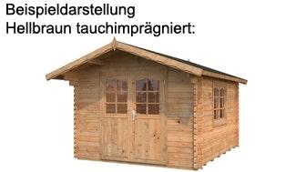Palmako Gartenhaus Hellbraun tauchimprägniert