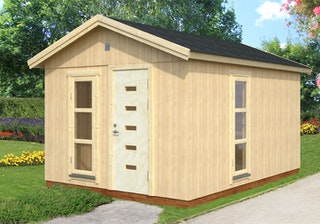 Palmako Nordic-Haus Ly 13,6 m² - 18+70 mm