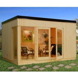 Palmako Nordic Gartenhaus Solveig 13,6 m² - 18+70 mm