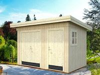 Palmako Gerätehaus Kalle 6,6 m² - 18+70 mm