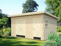 Palmako Gerätehaus Kalle 13,5 m² - 18+70 mm