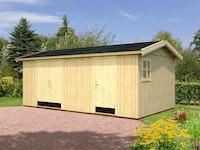 Palmako Gerätehaus Olaf 16,9 m² - 18+70 mm