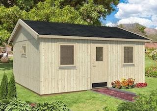 Palmako Nordic+ Gartenhaus Pernilla 21,5 m² - 160 mm