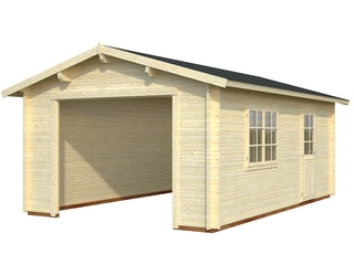 Palmako Garage Roger 19,0 m² - 44 mm - ohne Tor
