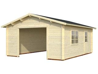 Palmako Garage Roger 23,9 m² - 44 mm - ohne Tor