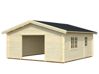 Palmako Garage Roger 27,7 m² - 70 mm - ohne Tor