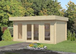Palmako Gartenhaus Bret 14,8 m² - 44 mm