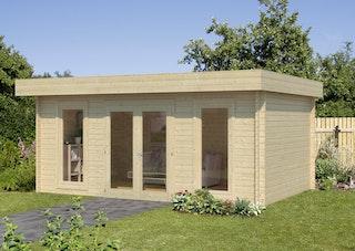 Palmako Gartenhaus Bret 19,9 m² - 44 mm