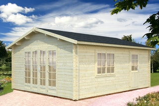 Palmako Gartenhaus Irene 23,9 m² - 44 mm