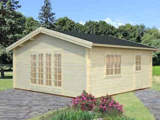 Palmako Gartenhaus Irene 27,7 m² - 70 mm