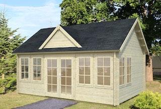 Palmako Gartenhaus Claudia 19,4 m² - 44 mm
