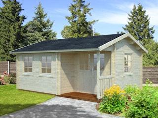 Palmako Gartenhaus Susanna 16,4 m² - 44 mm