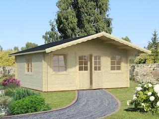 Palmako Gartenhaus Helena 24,6 m² - 70 mm