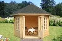 Palmako Pavillon Hanna 7,6 m² FSC Mix 70 % - 34 mm