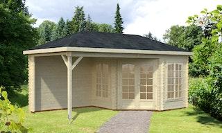 Palmako Pavillon Melanie 6,8+8,3 m² - 28 mm