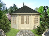 Palmako Pavillon Hanna 14,1 m² - 44 mm