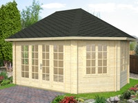 Palmako Pavillon Hanna 20,3 m² - 44 mm