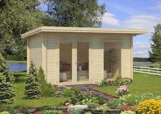 Palmako Gartenhaus Heidi 11,7 m² - 44 mm
