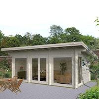 Palmako Gartenhaus Heidi 19,7 m² - 70 mm