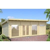 Palmako Gartenhaus Heidi 22,8 m² - 70 mm