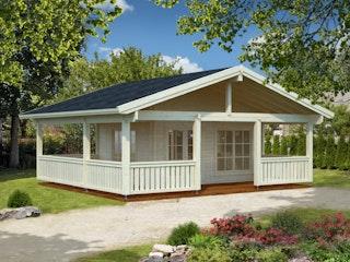 Palmako Ferienhaus Agneta 18,8+28,8 m² - 70 mm