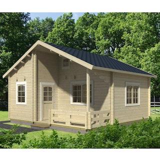 Palmako Ferienhaus Emily 40,1 + 5,2 m² - 70 mm