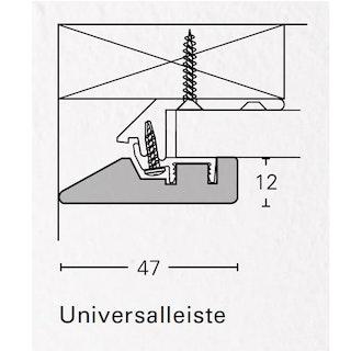PARADOR ClickBoard Universalleiste Weiß - Dekor